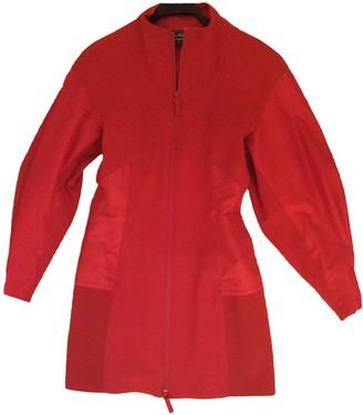 Salvatore Ferragamo Red Synthetic Jackets