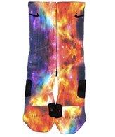 Noah Gfts Custom Nike Elite Socks Galaxy