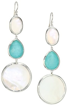 Ippolita Ondine Sterling Silver, Mother-Of-Pearl & Doublet Graduated Drop Earrings