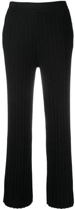 Sminfinity Ribbed Straight-Leg Track Pants