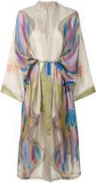 Mes Demoiselles longline kimono coat