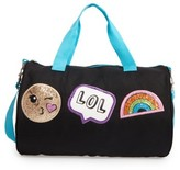 Capelli of New York Girl's Emoji Duffel Bag - Black