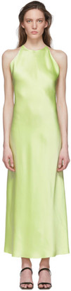 Rosetta Getty Green Slip Dress