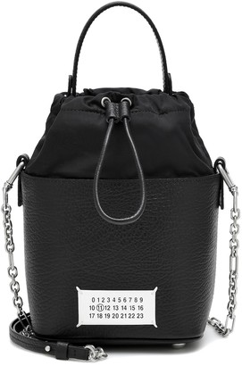 Maison Margiela 5AC Small leather bucket bag