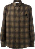 Golden Goose Deluxe Brand checked shirt - men - Cotton/Virgin Wool/Polyamide/Polyester - XS