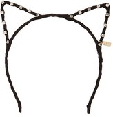 Tasha Crystal & Faux Suede Cat Ear Headband