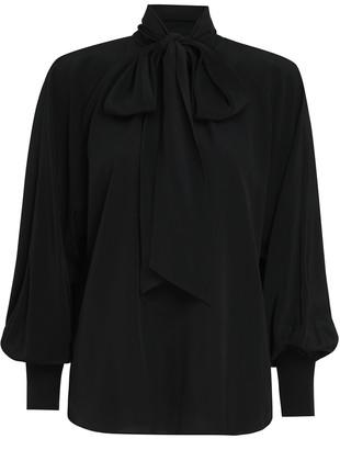 Zimmermann Batwing Silk Blouse