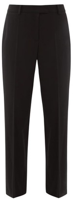 A.P.C. Cece Twill Straight Leg Trousers - Womens - Black