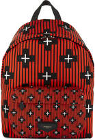 Givenchy Striped Practical Crosses Print Nylon Backpack