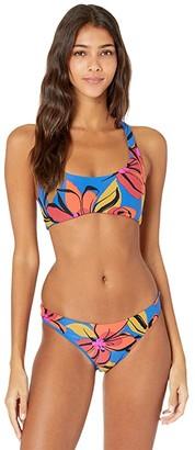 O'Neill Gala Racerback Top (Blue) Women's Swimwear