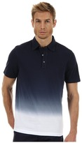 Michael Kors Dip Dyed Polo (Midnight) - Apparel