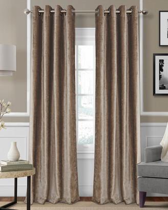 Elrene Victoria Blackout Window Curtain Panel