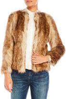 Karen Millen Faux Fur Jacket