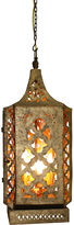 One Kings Lane Moroccan Chandelier, Antiqued Gold