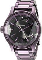 Nixon Women's A3842172 Facet Analog Display Japanese Quartz Purple Watch