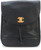 Chanel Vintage 3 CC backpack