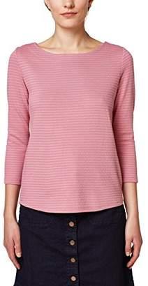 Esprit edc by Women's 088cc1k052 Long Sleeve Top, (Dark Old Pink 675), X-Large