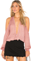 Young Fabulous & Broke Young, Fabulous & Broke Date Nite Top in Rose. - size M (also in S,XS)