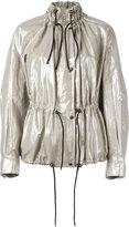 Isabel Marant metallic Lux jacket - women - Cotton/Linen/Flax/Polyester/Spandex/Elastane - 36