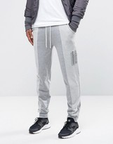 Asos Skinny Joggers With Ma1 Pocket & Reverse Loopback Panels