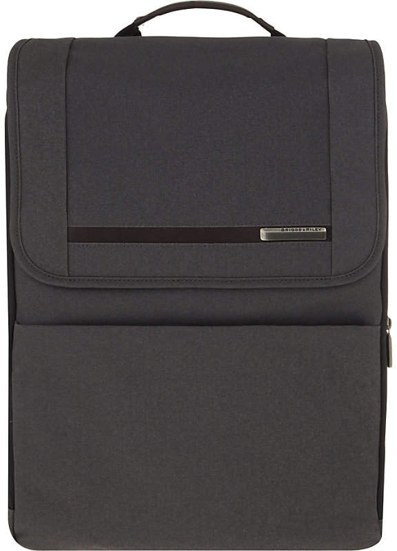 Briggs & Riley Kinzie Street expandable backpack, Grey