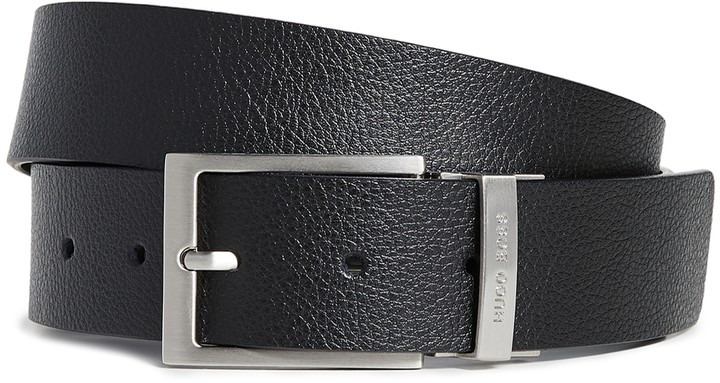 8c60ff538f Boss Black Reversible Leather Belt - ShopStyle
