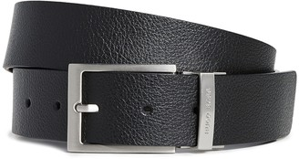 HUGO BOSS Reming Reversible Leather Belt