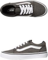 Vans Kids Old Skool Suiting Shoe Grey
