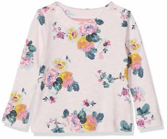 Joules Baby Girls' Harbour Print Longsleeve T-Shirt