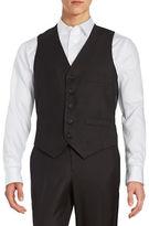 Kenneth Cole Reaction Textured Button-Front Vest