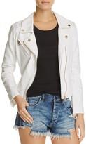 Blank NYC Blanknyc White Denim Moto Jacket - 100% Exclusive