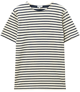 Jigsaw Two Scale Stripe T-shirt, Navy