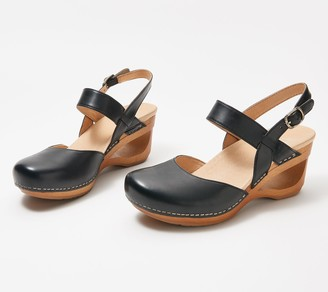 Dansko Leather Wedges - Taci