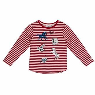 Salt&Pepper Salt and Pepper Girls' Horses mit vielen Applikationen Longsleeve T-Shirt