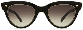 Mr. Leight Madison S Bk-12kg/sfbkg Sunglasses