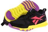 Reebok SubLite Train 1.0 (Black/Party Purple/Coral Contrast/Solar Green) - Footwear