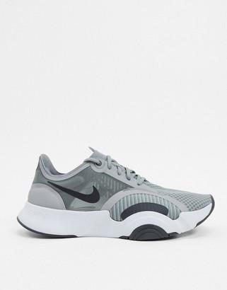 Nike Training SuperRep Go sneakers in grey
