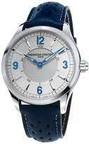 Frederique Constant 42mm Horological Smart Watch with Leather Strap, Blue