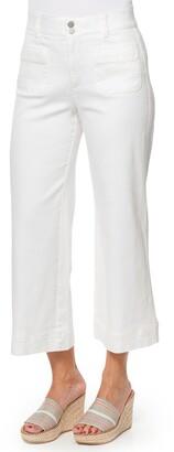 Wit & Wisdom Ab-Solution High Waist Crop Wide Leg Jeans