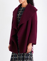 Burberry Fenni wool and cashmere-blend cardigan