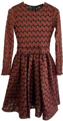 Maje Fall Winter 2018 Burgundy Lace Dresses