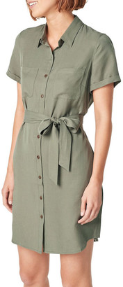 French Connection Lyocell Shirt Dress