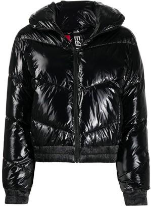 HUGO BOSS Wet-Look Padded Jacket