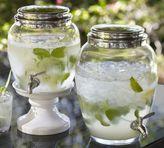 Pottery Barn PB Classic Glass Drink Dispenser
