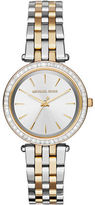 Michael Kors Darci Two-Toned Stainless Steel Analog Watch