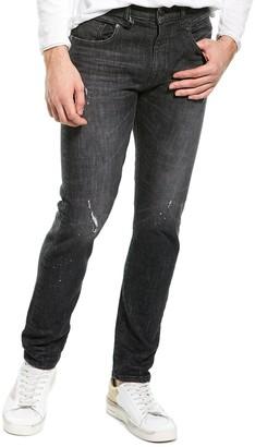 R 13 Boy Hardwin Slim Straight Leg Jean