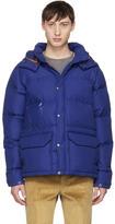 Junya Watanabe Navy The North Face Edition Puffer Jacket