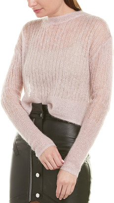 RtA Gilda Mohair & Wool-Blend Sweater