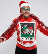 Brave Soul PLUS Holidays Elfie Sweater
