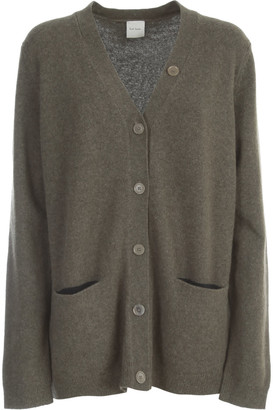 Paul Smith Oversized Long Cardigan W/pockets